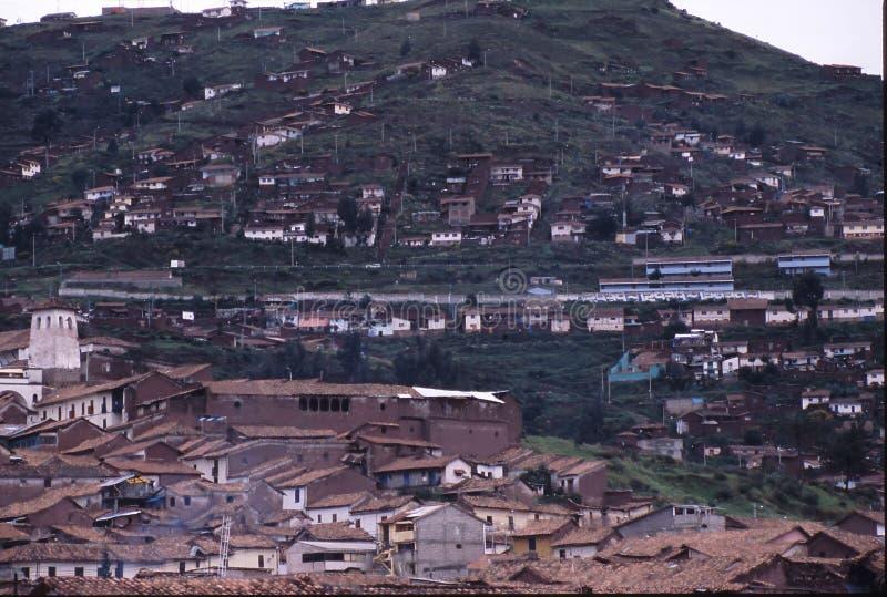 cuzco peru royaltyfri fotografi
