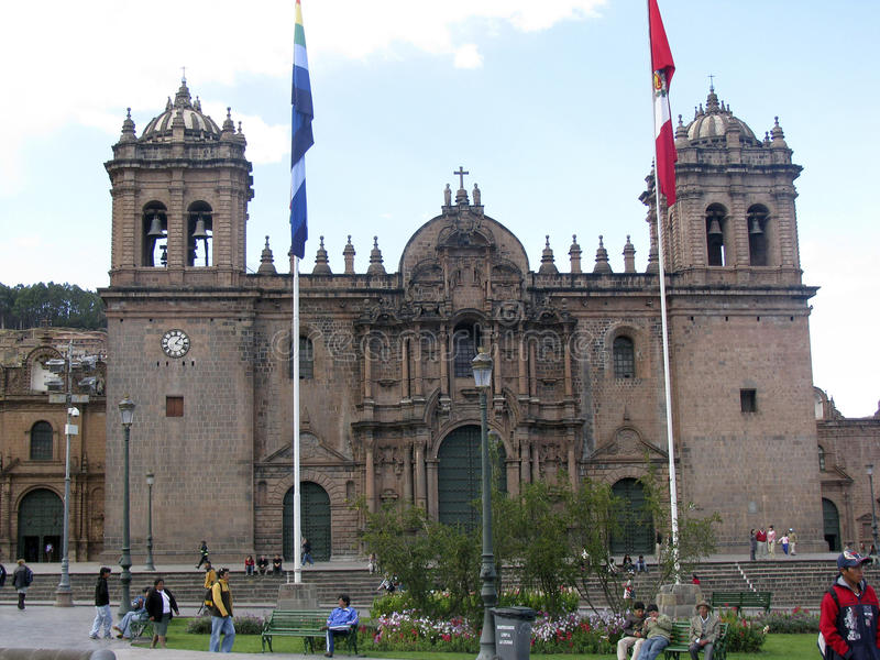 cuzco Peru obraz royalty free