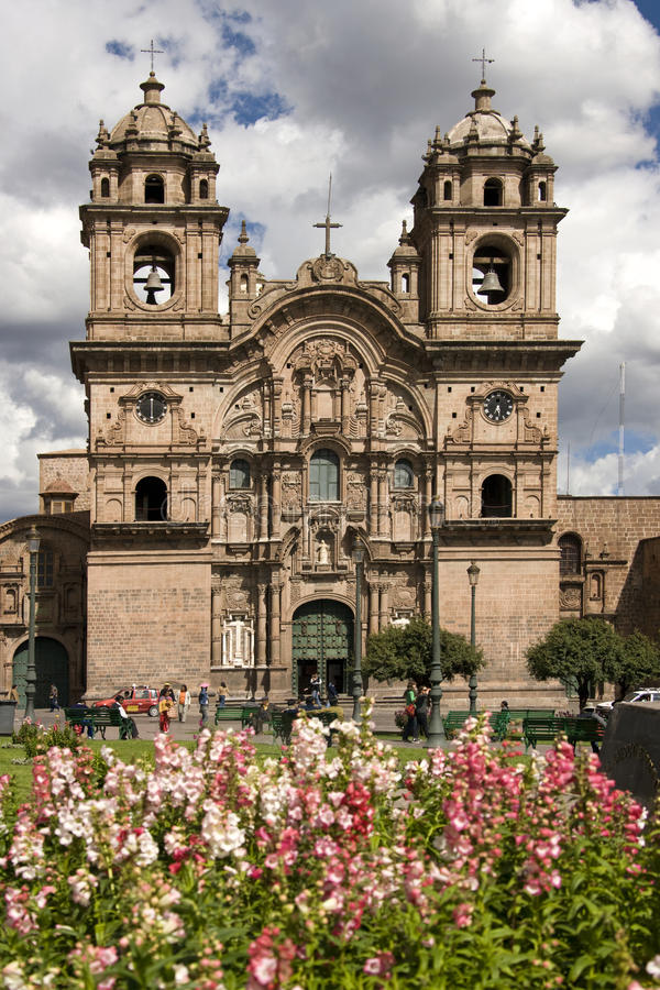 Cuzco - Plaza de Armas - le Pérou photo stock