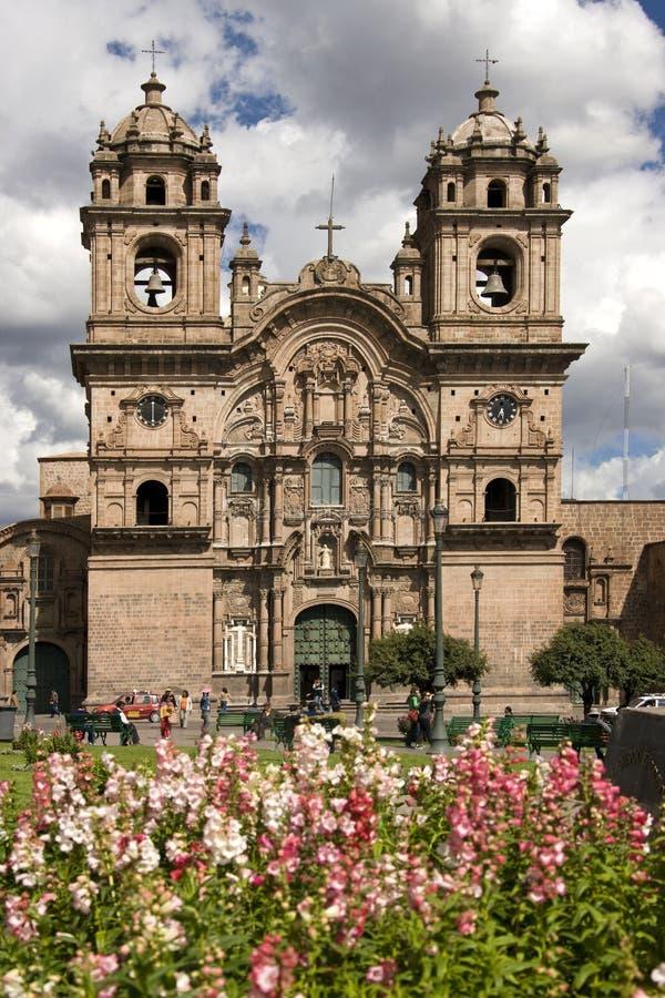 Cuzco - Plaza de Armas - Peru stockfoto