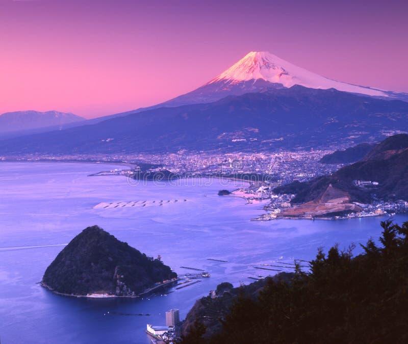 CV de Fuji del montaje imagen de archivo libre de regalías