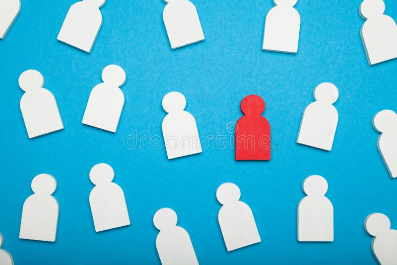 Cv find work, job recruitment. Headhunter hired royalty free stock photos