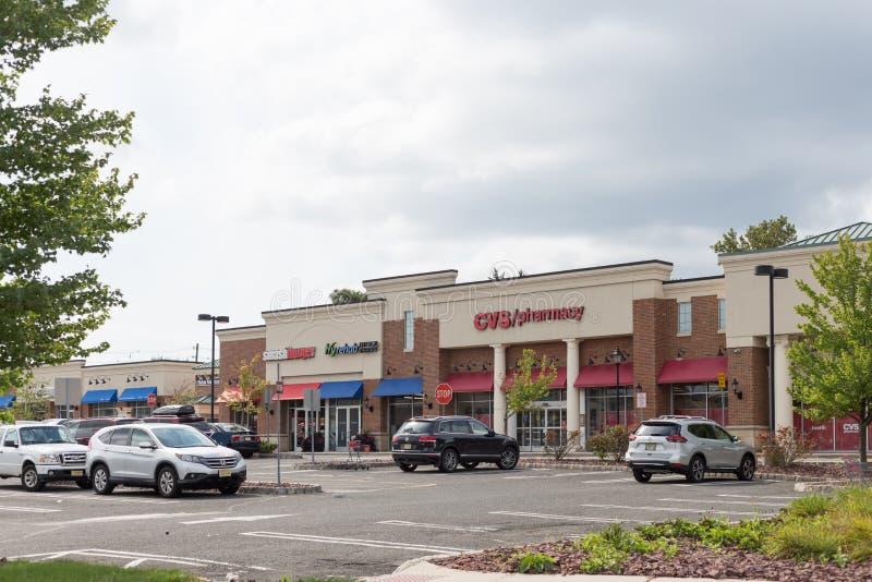 CVS-Apotheke gelegen in New-Jersey Piazza stockfoto