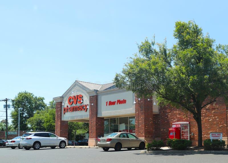CVS apteki handlu detalicznego lokacja zdjęcia stock