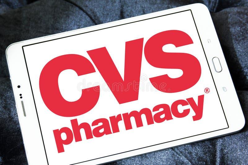Cvs apteki logo fotografia stock
