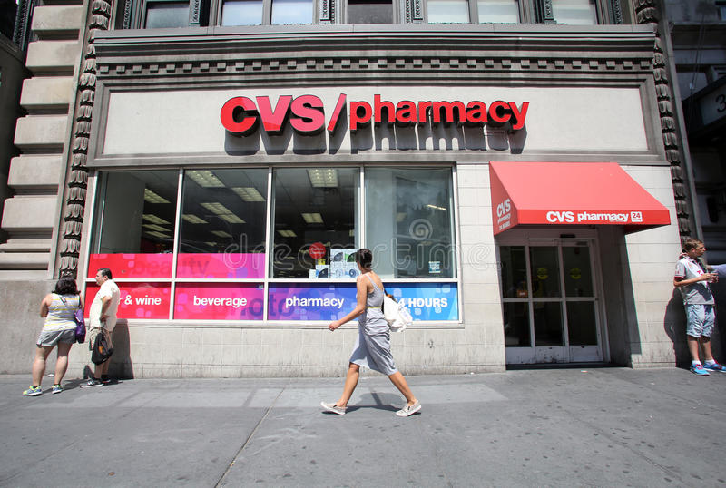 CVS Pharmacy storefront editorial stock photo  Image of drugs - 50922533