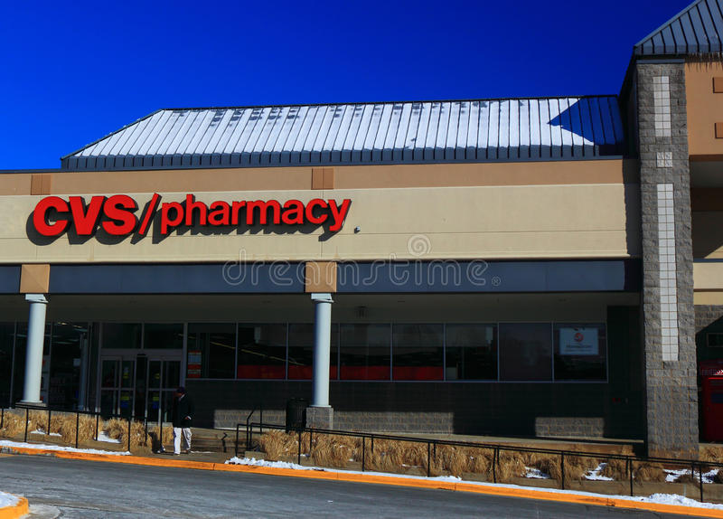 cvs pharmacy store editorial photography  image of