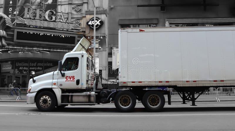 CVS Truck Dostarczający Towary obraz royalty free