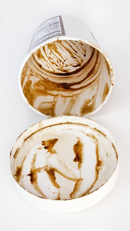 CWho στο υπόλοιπο του παγωτού στοκ εικόνα με δικαίωμα ελεύθερης χρήσης