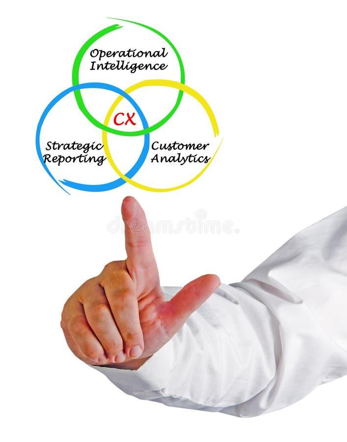 CX-Kunde Analytics stockfotos