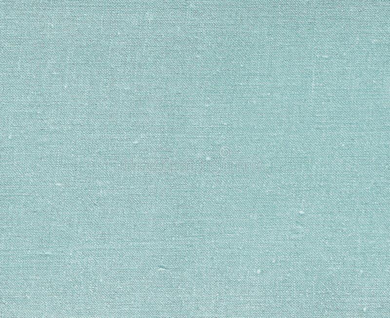 Cyaan gekleurde natuurlijke textieltextuur royalty-vrije stock fotografie