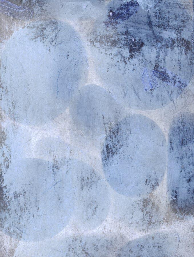 Cyan-blauer Auszug lizenzfreie abbildung