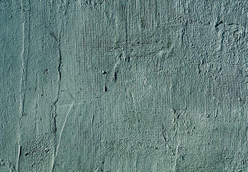 Cyan cementväggtextur royaltyfri bild
