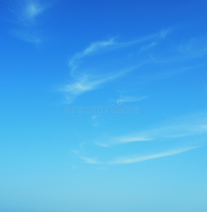 Free Cyan Clear Summer Blue Sky With Clouds Royalty Free Stock Images - 13700769