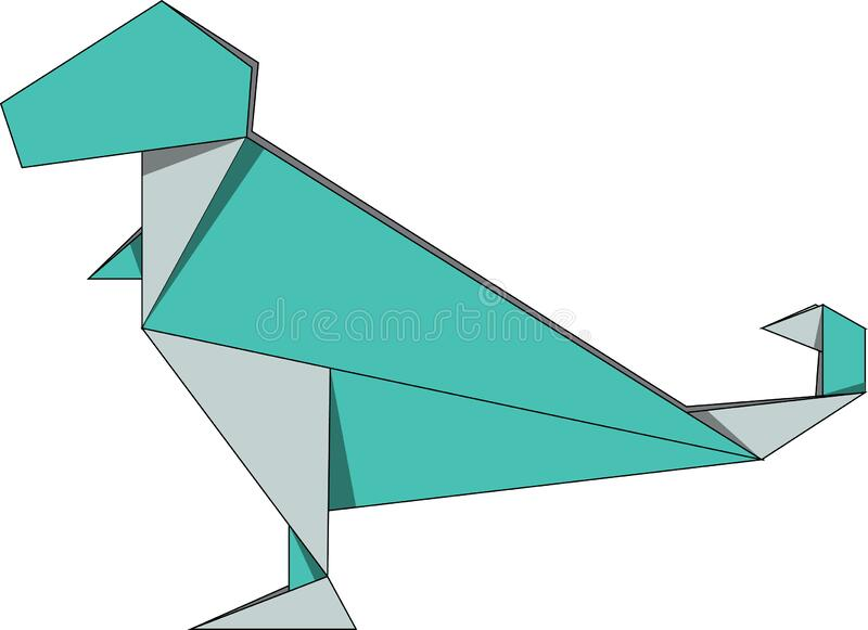 How To make a origami Tyrannosaurus Rex instructions || easy || by ... | 581x800
