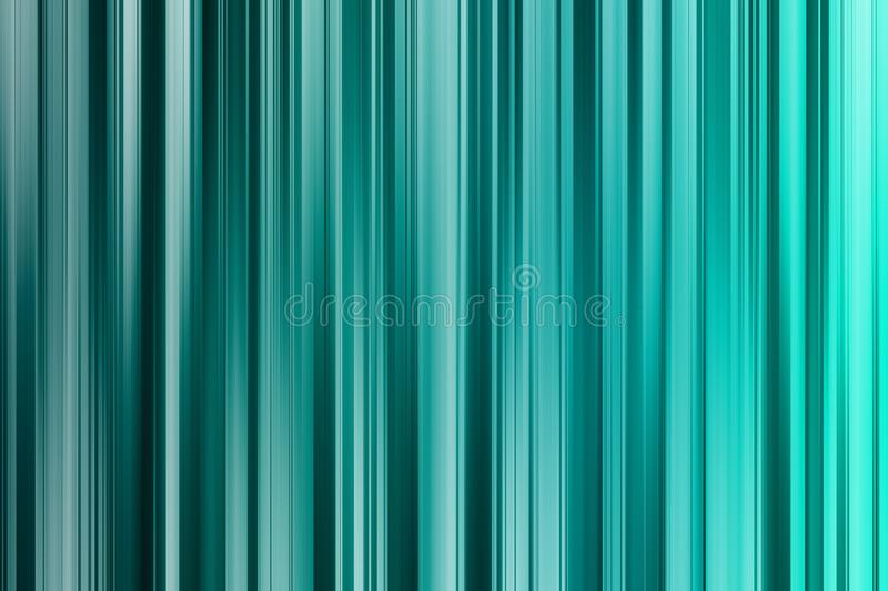 Cyan shades vertical lines, light abstract background. Cyan, aquamarine, blue and turquoise vertical lines, light abstract background vector illustration