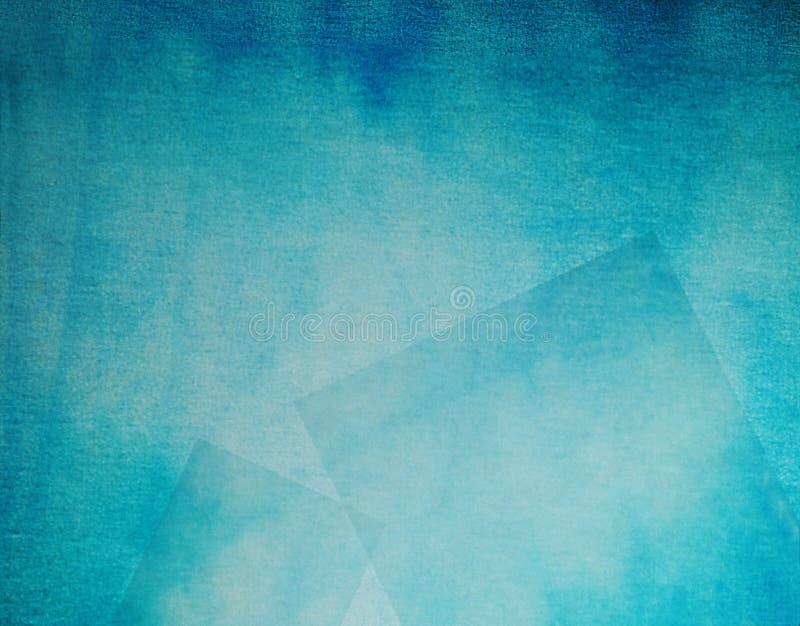 cyan silkespapper för bakgrund arkivfoto