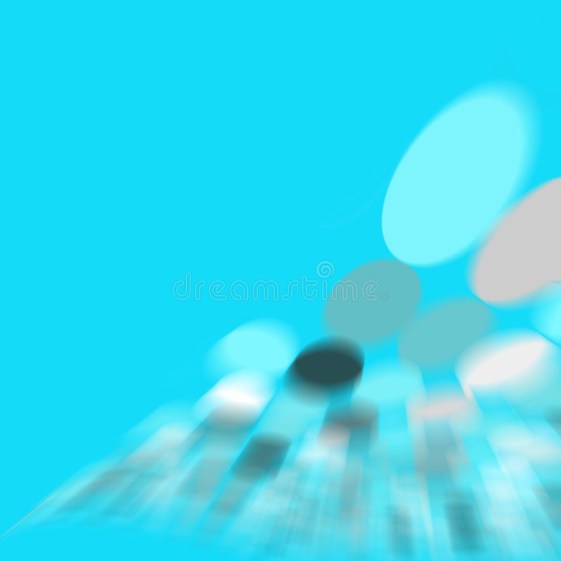 Download Cyan spot abstract stock illustration. Illustration of digital - 110010