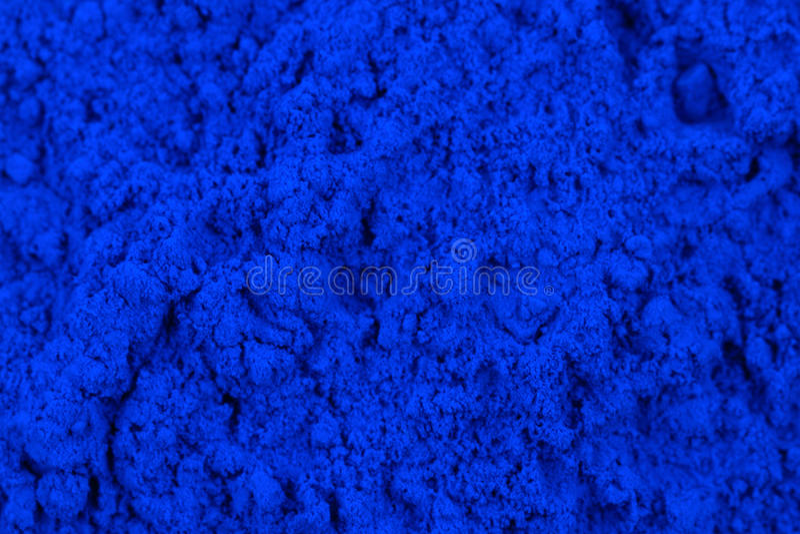 Cyan toner powder. As nice technological background royalty free stock image