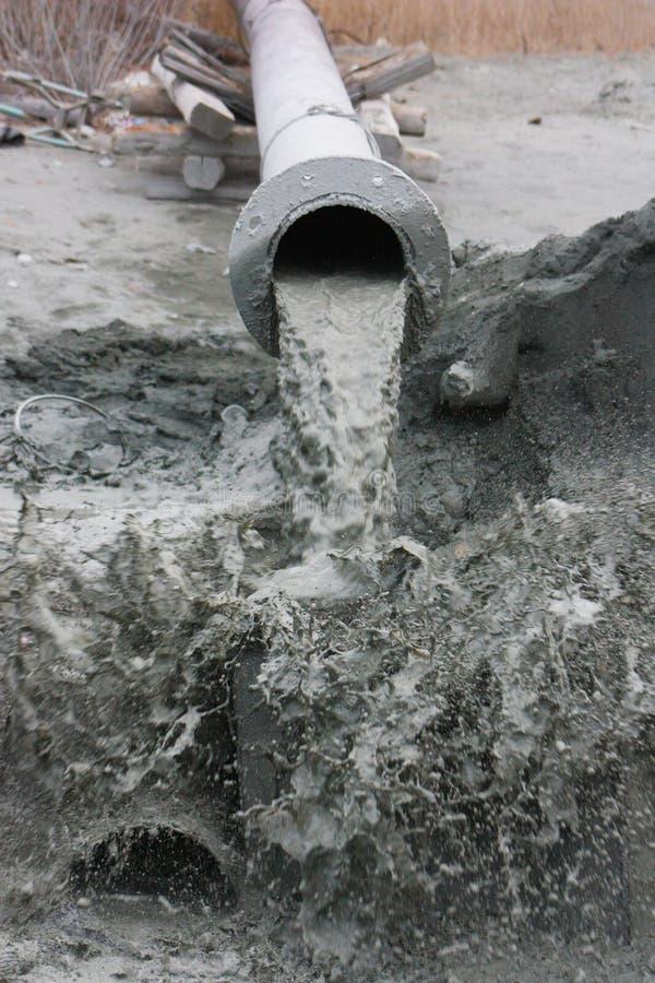 Cyanidemeer in taiga 002 royalty-vrije stock afbeeldingen