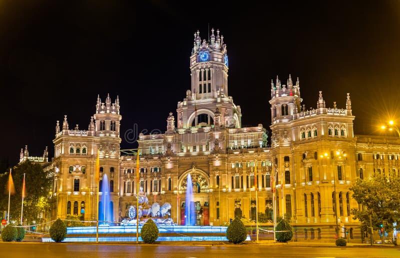 Cybele Palace En Madrid España Imagen De Archivo Imagen