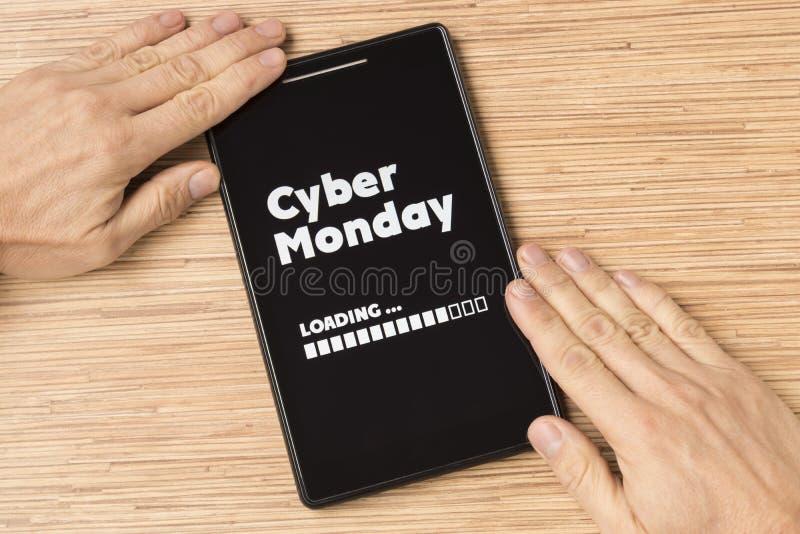 Cyber星期一 免版税库存图片
