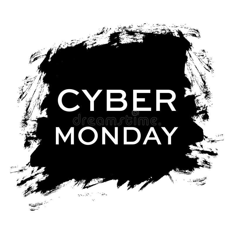 Cyber星期一 销售额 免版税库存照片