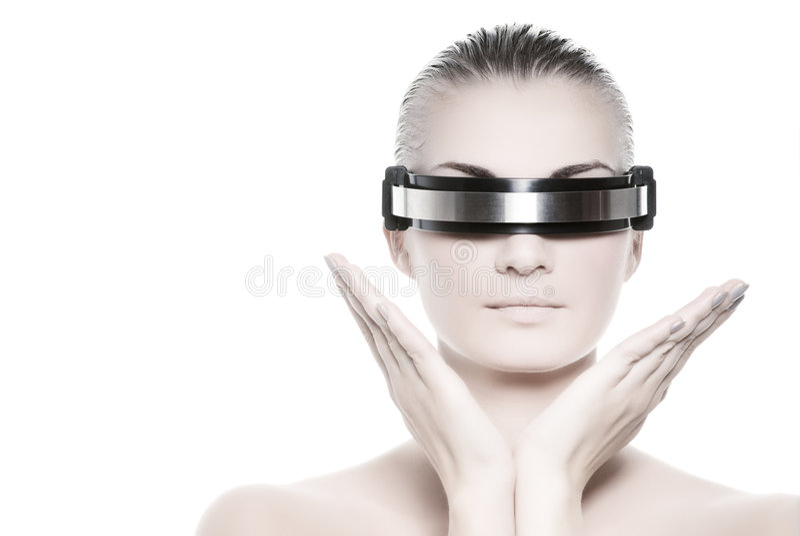 cyber γυναίκα