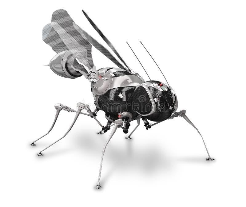 cyber μπροστινό κουνούπι απεικόνιση αποθεμάτων