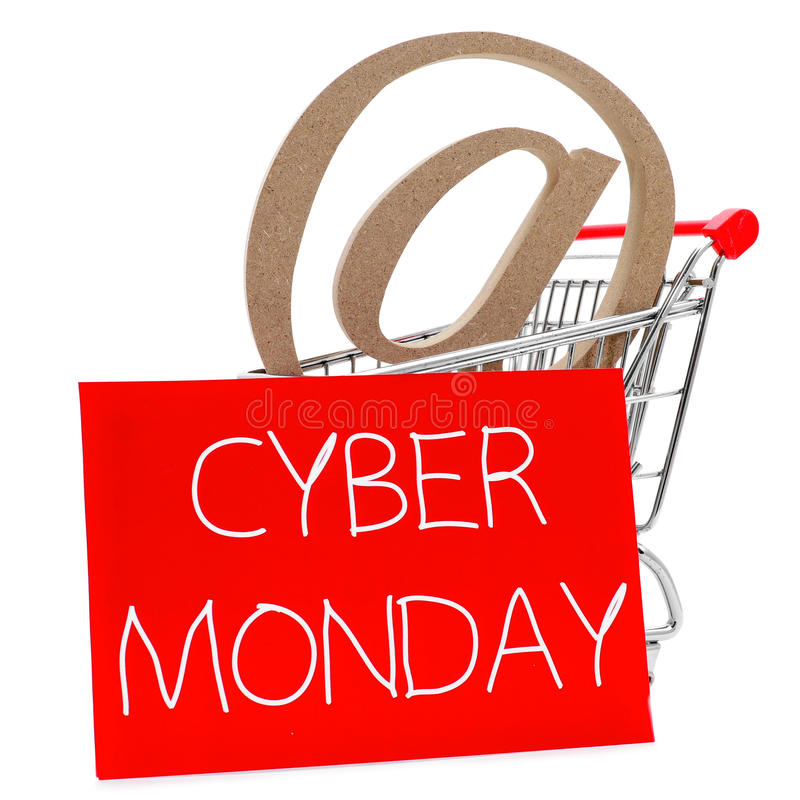 Cyber понедельник стоковая фотография rf