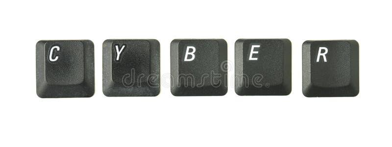 CYBER immagine stock