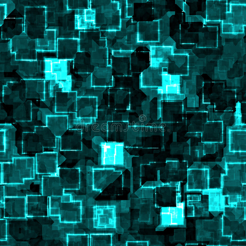 Download Cyber abstract stock illustration. Illustration of square - 2791562