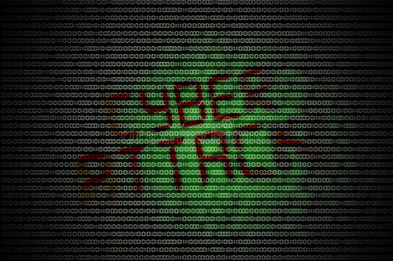 Cyber attack stock images