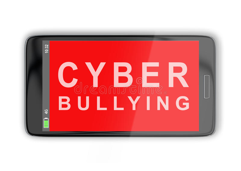 Cyber Bullying concept vector illustration