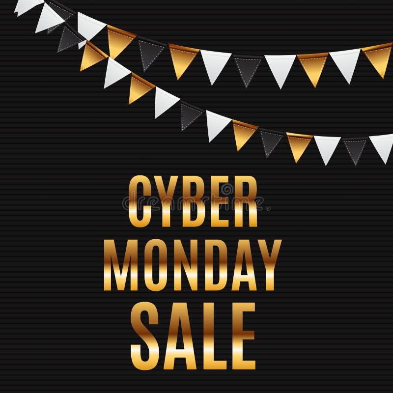 Cyber Monday Sale Deals Design Template Collection Set