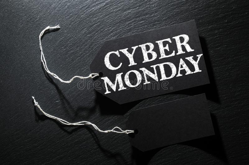 Download Cyber Monday Sale Tag Background Stock Image - Image of message, gift: 100815605