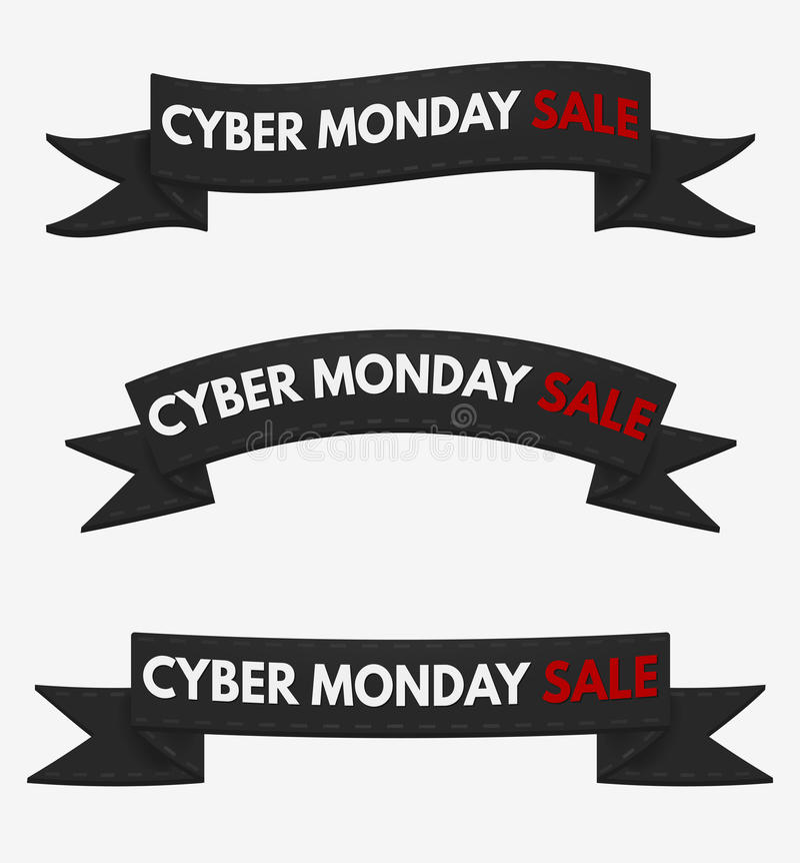 Cyber-Montag-Verkauf vektor abbildung