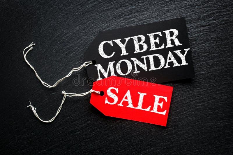 Cyber-Montag-Verkaufstags lizenzfreies stockfoto
