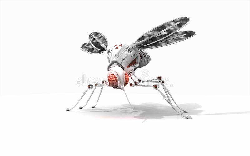 Download Cyber mosquito stock illustration. Illustration of illustration - 39503667