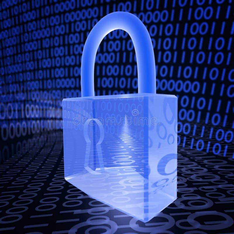 Cyber ochrona ilustracja wektor