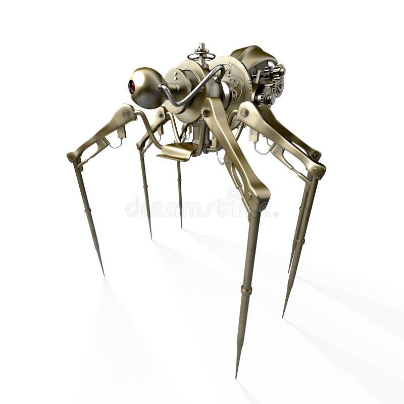 cyber pająk zdjęcie stock