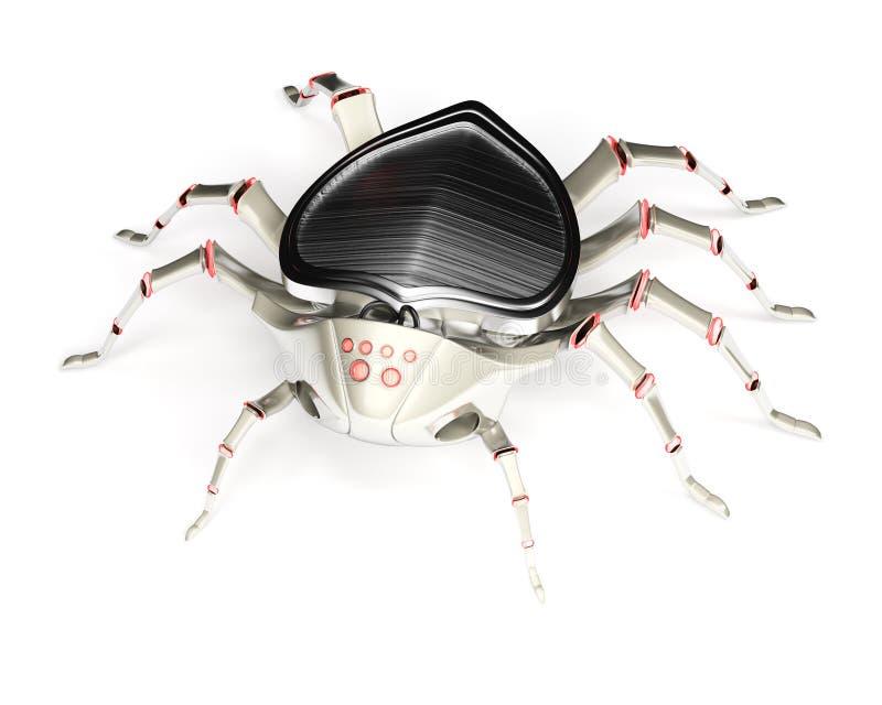 Cyber pająk royalty ilustracja