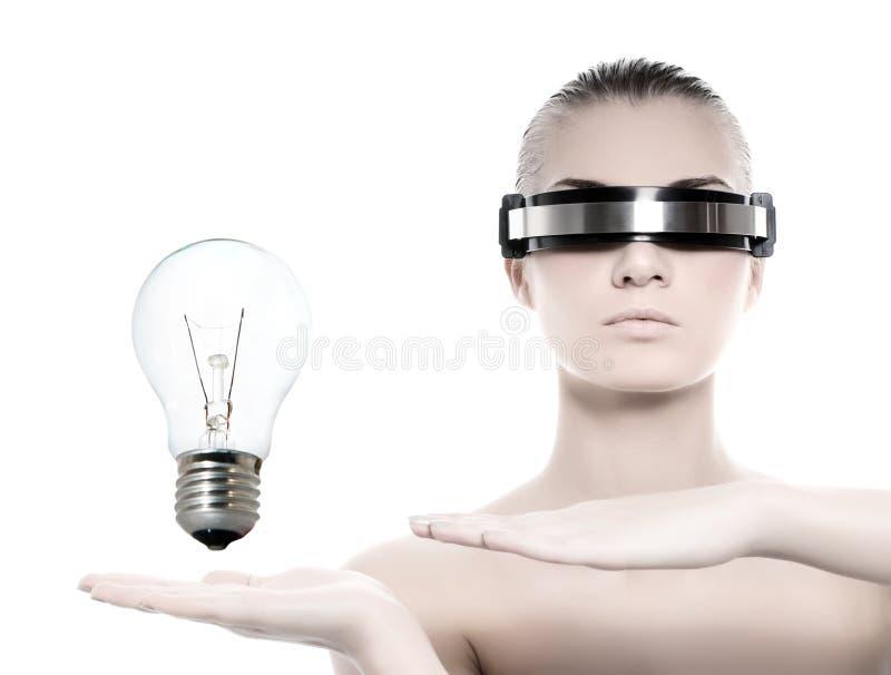 cyber piękna kobieta zdjęcia royalty free