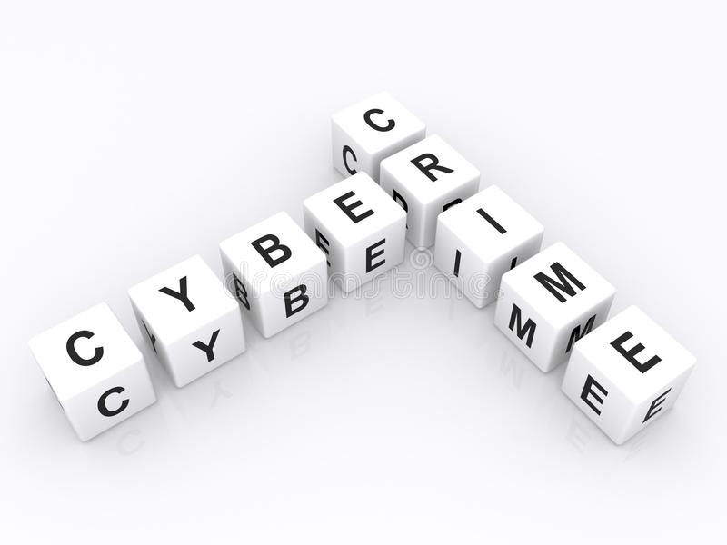 Cyber przestępstwo ilustracji