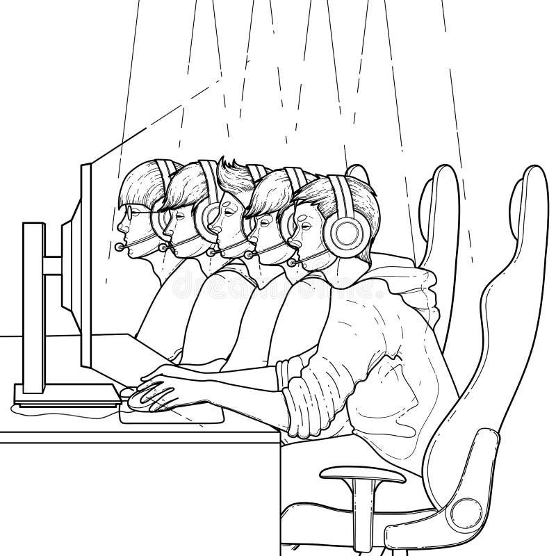 Cyber sport design vector illustration