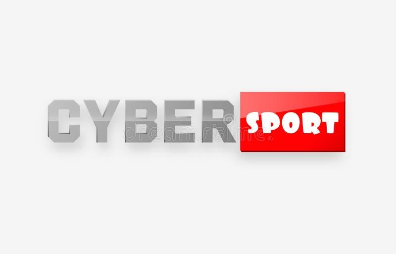 Cyber sport logo vector illustration