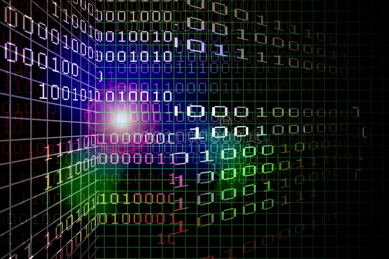 Cyber-Traum lizenzfreie abbildung