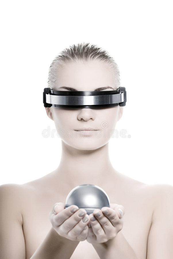 Download Cyber Woman Stock Photography - Image: 5723322