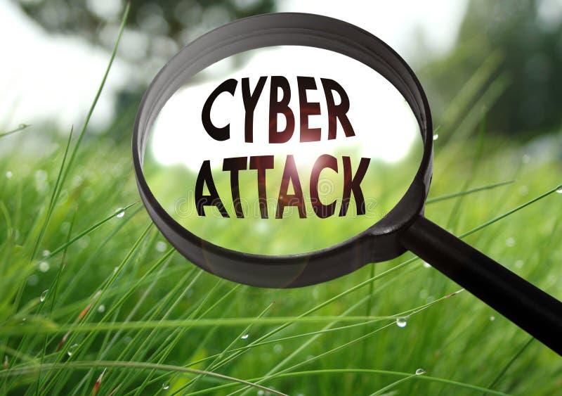 Cyberaanval stock foto's