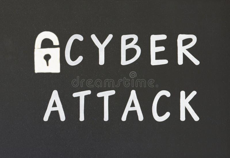 Cyberangriff stockbilder